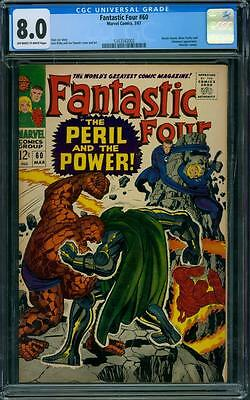 Fantastic Four 60 CGC 8.0 - OW/W Pages