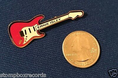 vintage 1970's Ernie Isley PROMO PIN button Brothers NR MINT guitar fender