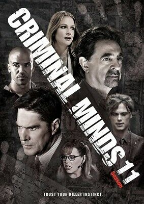 Criminal Minds: Season 11 [New DVD] Boxed Set, Dolby, Slipsleeve Packaging, Su