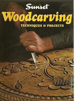 Woodcarvings Techniques &  Projects by Sunset Books (Paperback, 1987)