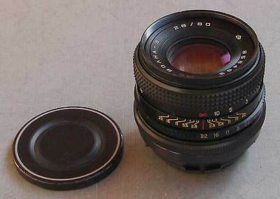 MC Volna-3 2.8/80mm ARSAT lens for ARRI Red One Arriflex PL movie camera, EXC!