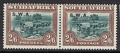 South West Africa Sg65 1927 2/6 Green & Brown Mtd Mint
