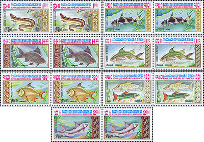 Fishes -PAIR- (MNH)