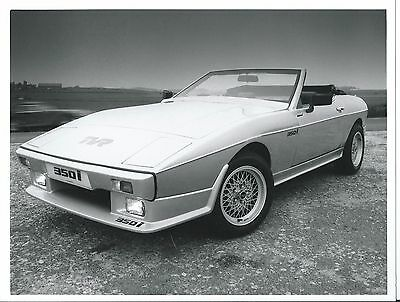 TVR 350i Original Press Photograph Circa 1988 Excellent Condition