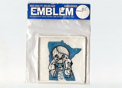 """Vintage Early 1970s MLB Minnesota Twins  3"""" Patch Sealed in Original Packaging"""