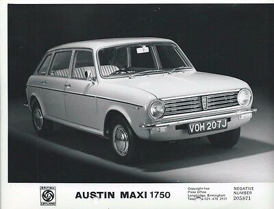 British Leyland Austin Maxi 1750 Original Press Photograph 1970 1971