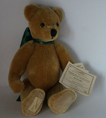 Dean's Rag Book teddy bear 'Howard' Ltd. Ed. for 1998, tags, 12""