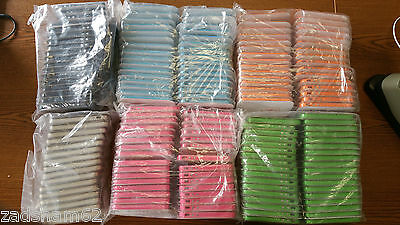 LOT OF 164 SOFT TPU BUMPER FRAME CASE FOR iPHONE 4, 4S - NEW