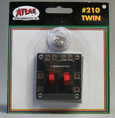 ATLAS HO SELECTOR OPERATE /& CONTROL 2 TRAINS couples track controler ATL215 NEW