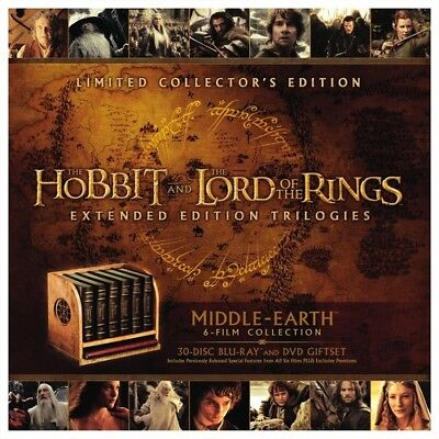 Middle-earth Limited Collector's Edition [New Blu-ray] Ltd Ed, UV/HD Digital C