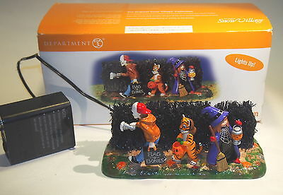 Dept 56 LIGHTING UP HALLOWEEN FIGURE ACCESSORY w/ Battery Pack Lights Up RETIRED