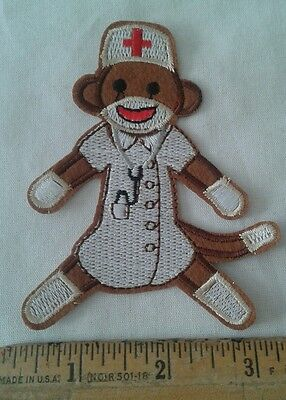 Curious George Monkey Nurse Patch