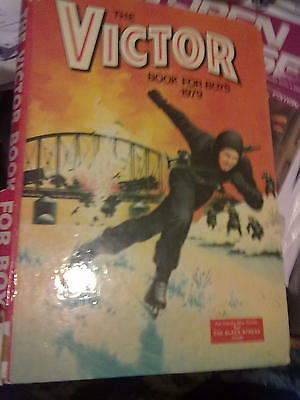 THE VICTOR Book For Boys 1979 Annual FREE POST
