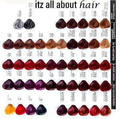 RPR My Colour is a professional reconstructing colour system 100g tube Mix 1:1.5