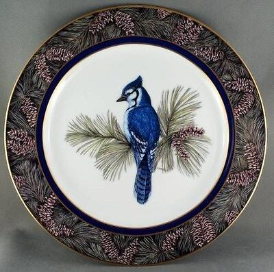 Christine Marshall Whispering Pines - Bluejay Collector Plate Limited to 2500 pl