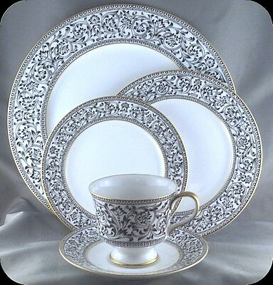 Sango Spanish Lace 5 piece Place Setting Pristine (two sets available) 3757