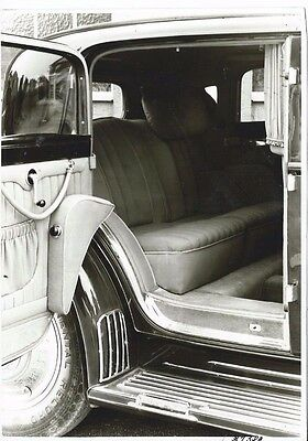 Maybach Zeppelin Close up Interior View Original Old Photograph Excellent