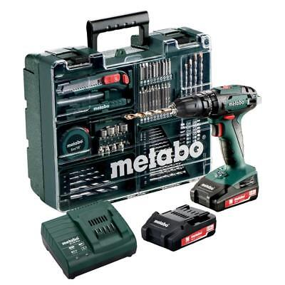 metabo akku bohrschrauber bs18 lt inkl 2 x 18 v 4 ah akku ultra m neuware eur 239 99. Black Bedroom Furniture Sets. Home Design Ideas