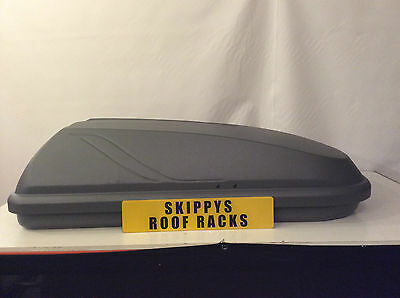 Halfords 250 Grey Roof Box (Made By Thule)