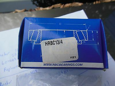 RBC Bearings hRBC13/4 cam followers  quantity of 5