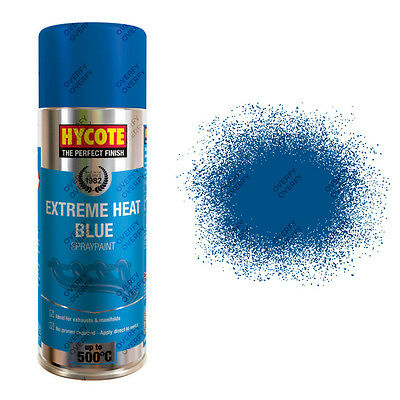x1 Hycote® 400ml Blue High Temperature Aerosol Car Spray Paint Acrylic Formula