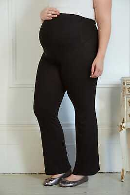 Plus Size Womens Bump It Up Maternity Yoga Pants With Control Panel