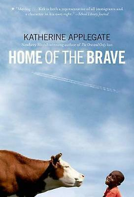 Home of the Brave by Katherine Applegate (English) Paperback Book Free Shipping!