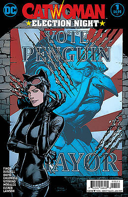 CATWOMAN ELECTION NIGHT #1 VARIANT (DC 2016 1st Print) COMIC
