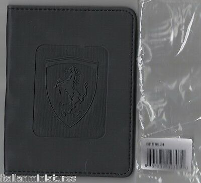Ferrari Passport Holder Official Product SFB8924 New Stitched Edges