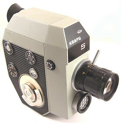 QUARZ 5 Russian 8mm Movie Camera Kit