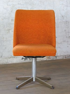 "Rockabilly Cocktail Retro Vintage Swivel Chair Tub Vintage 1970s 70s 60s ""2"""