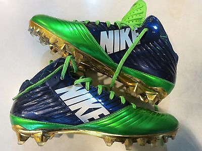Marshawn Lynch game used shoes worn in 2014 coa + Proof! Seahawks Beast Mode