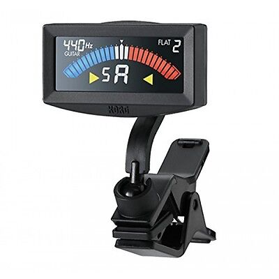 Korg Pitchcrow Clip on Tuner AW4GBK for Guitar and Bass Colour Screen - Black