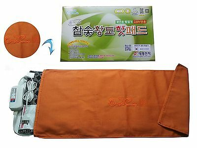 Anion Energy Hardwood Charcoal Loess Heating Pad (TVE70, Large)