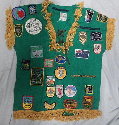 #tt. Boy  Scout  Top  With  Cloth Patches