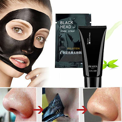 Deep Cleansing Purifying Peel Acne Black Mud Face Mask Pilaten Blackhead Remover
