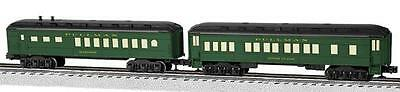 Lionel 6-81763 O Pullman Madison Coach/Diner Car 2-Pack