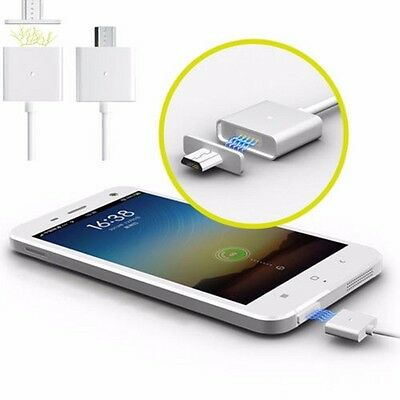 2.4A Micro USB Charging Cable Magnetic Adapter Charger For Android Samsung HTC