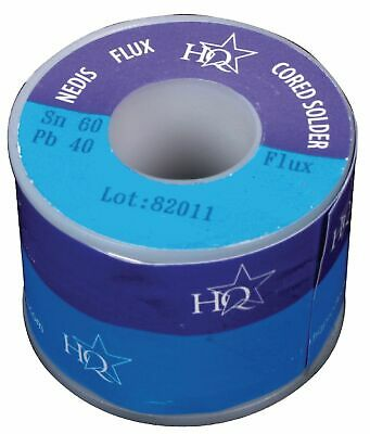 Solder Wire Lead 60/40 HQ Flux Multicored Solder various Dia ./ Reels DIY etc.