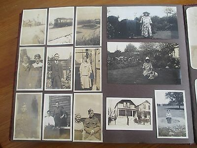 EARLY 1920/30s PHOTOGRAPH ALBUM-THE HAY FAMILY CLEETHORPES LINCOLNSHIRE