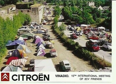 Citroen 2CV Vinadio 15th International Meeting Official Press Photograph Group