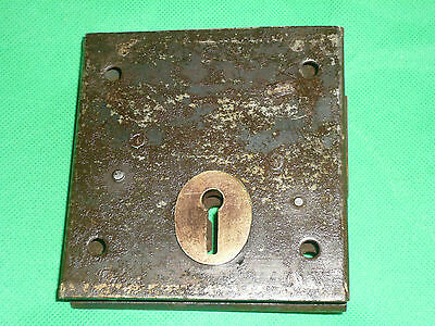 Vintage Antique Reclaimed Victorian Rim Lock Door Latch