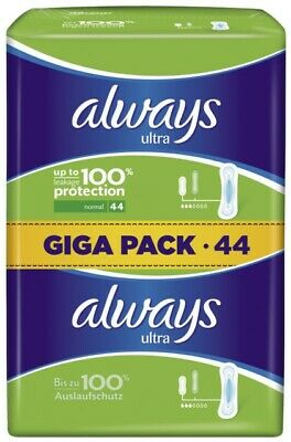 264 Stück always Ultra Binden Normal Gigapack 44er Pack x 6 Vorteilspack neu/OVP