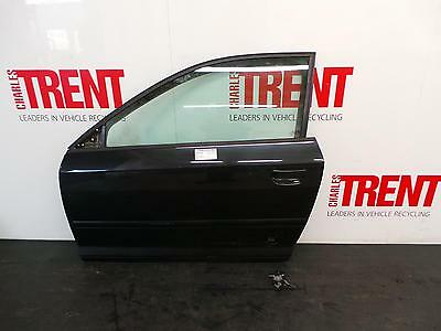 2004 AUDI A3 8P 3 Door Hatchback Black N/S Passengers Left Front Door