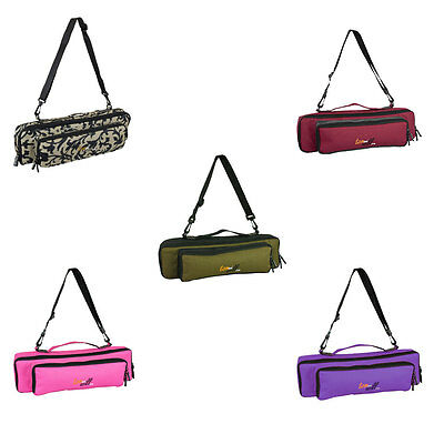 Tom & Will 33FPP Flute & Piccolo Piggyback Case Cover in Various Colours