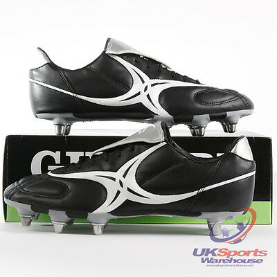 Gilbert Saracen Low Cut Soft Ground SG Rugby Boots rrp£40 Adult UK 13
