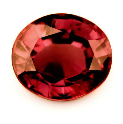 Certified Natural Superb 1.85ct Untreated & Unheated Ruby VVS Clarity, Oval Cut