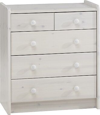 Furniture For Kids Whitewash Childrens Bedroom Furniture 2+3 Chest Of Drawers