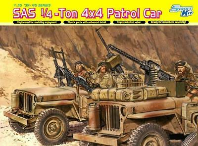 NEW Dragon Models 1/35 SAS 1/4-Ton 4x4 Patrol Car w/Crew 6745