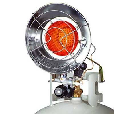 Mr. Heater MH15T Outdoor Propane Heater 15,000 BTU Single Burner Tank F242100